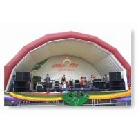 Cheap Outdoor Inflatable Stage Party Tent for party event for sale
