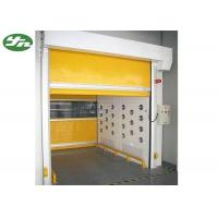 Cargo Air Showers For Clean Rooms , Decontamination Air Shower Roller Shutter Door