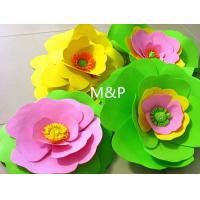 Cheap Orange pink grass green white 1mm 10cm x10 cm origami roses Sponge Eva plastic DIY manual paper paper kindergarten for sale