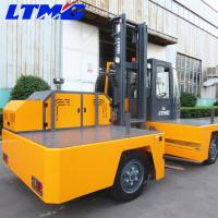 China Lifting Height 4800mm Side Load Forklift Electric , Industrial Forklift Truck on sale