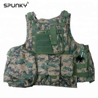 Cheap Tactical Paintball Hunting Military Combat Vest Airsoft Gear Adjustable Wear Resist for sale