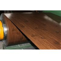 Buy cheap Wooden Printing Type Prepainted Galvanized Steel Coil With 23-1250mm Width from wholesalers