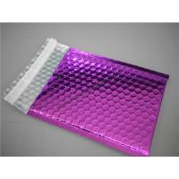 Cheap Multi Colored Purple Metallic Bubble Mailers 220x275 #B5-3 For Transport for sale