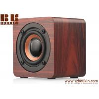 Buy cheap Bluetooth Speaker Wooden with 6h Play Time, Wireless Computer Speaker with from wholesalers