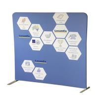 Cheap Portable Tension Fabric Displays Free Standing Photo Booth Recycled Materials for sale