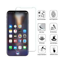 Cheap Anti Shatter 9H iPhone Tempered Glass Screen Protector 2.5D Round Angle for sale