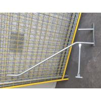 Cheap Blow Moulded Temporary Fencing Feet with Concrete,Temporary Fence Barce ,Clamp System for sale