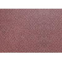 Anti Slip Loose Lay Vinyl Flooring 5mm Red Color Carpet Tiles 0.3mm Wear Layer