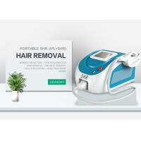 Buy cheap Portable SHR&IPL Hair-Removal System And Skin Rejuvenation Machine Two Handle from wholesalers