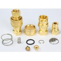 Abrasion Resistant Quick Connect Hydraulic Fittings LSQ-S7 Prevent Uncoupled Leakage