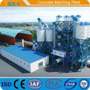 Cheap Compact Small Size 180m3/H HLS180 Precast Batch Plant for sale