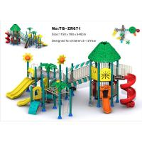 Cheap Combined Slide Children'S Outdoor Playground Equipment For Amusement Park for sale