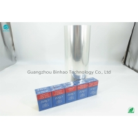 Cheap ISO9001 Clear Anti Static 76mm Tobacco PVC Packaging Film for sale