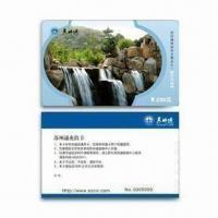 China Pre-printed PVC Card with Serial Number Thermal Printing and Double Side Lamination on sale