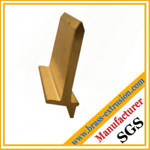 T shape copper alloy brass angles brass hardware