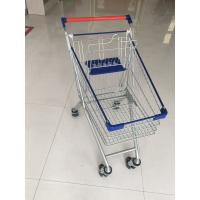 Buy cheap Steel Supermarket Shopping Carts With Safety Anti-UV plastic parts from wholesalers