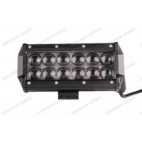Cheap 7.5inch Double LED Light Bar 36w 4x4 Spot / Flood / Combo Beam With 4D Lenses for sale