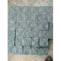 China Natural Exterior G684 Granite Paving Stones , Granite Stepping Stones for sale