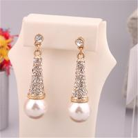 Cheap Imitation Pearl Earrings for Women Fashion Jewelry Accessories Hotsale Earrings Korean Earrings White Tower Earrings for sale