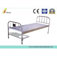 Stainless Steel Flat Medical Hospital Beds With Shoes Holder (ALS-FB005) Manufactures
