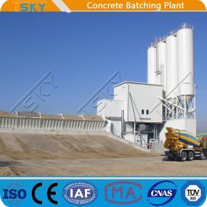 Cheap Horizontal HZS180 Concrete Batching Mixing Plant for sale