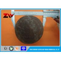 Chemical Industry HRC 60-68 steel ball mill grinding media balls for gold mining