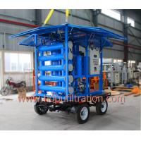 Cheap Mobile Trailer Double Stage Vacuum Transformer Oil Purifier With Waterproof Dustproof Cabinet,6000L Per Hour Treatment for sale