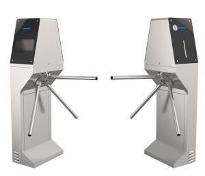 Cheap Station Barrier Gate JS-FTC018 Face Recognition Temperature Measurement for sale