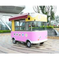Cheap Unique Design Mobile Food Truck Hot Dog Delivery Street Food Service CP-MB001 for sale