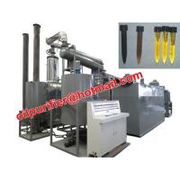 Cheap Car Motor Oil Vacuum Distillation Machine With Black Waste Engine Oil Recycle System for sale