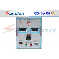 Cheap Large Capacity Dc Power Testing System , Strong Anti Interference Hipot Test Set for sale