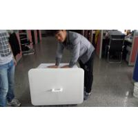 Cheap 200L accept customized order  plastic material solid style storage crates with lid for sale