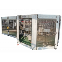 Cheap Automatic Complete Rotary Small Scale Glass Bottle Beer Filling Machine Production Line for sale