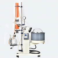 Buy cheap Vacuum Distillation Dual Condenser Rota Evaporator Multiple Function Rotary from wholesalers