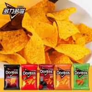 Quality Full automatic Corn Doritos Tortilla Chips/Doritos Triangle corn chips Snack wholesale