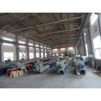 China Door Board WPC Extrusion Machinery For Building Template , Extrusion Lamination Machine on sale