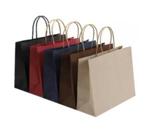 Cheap Eco Friendly Pantone Kraft Party Bags for sale