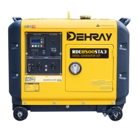 Cheap 7KW 870×645×710mm 15L Portable Silent Generators for sale