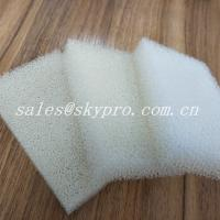 Cheap Silicone Dish Washing Sponge  Molded Rubber Products 9.5 - 16kg/M³ for sale