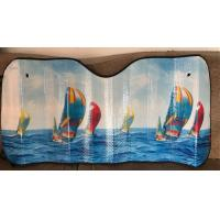 Cheap Customized car sunshade with beautiful photo for sale