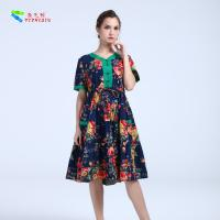 Cheap YIZHIQIU Casual Dresses cotton anti-static dress for sale