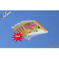 China 180g Gummed inkjet photo paper A4 inkjet printing photo paper with factory price on sale
