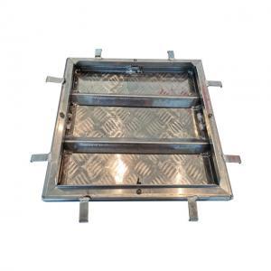 Cheap Square Aluminum Manhole Cover V-Type for sale