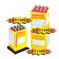 Cheap K1130C4,C5,C7 12s,20s,25s Saturn Missile Battery for sale