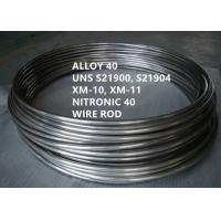 Cheap UNS S21900 Corrosion Resistant Alloys Versatile Austenitic Stainless Steel for sale