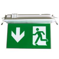 Cheap 200LM Ceiling Recessed Indoor Led Battery Operated exit signs with emergency lighting for sale