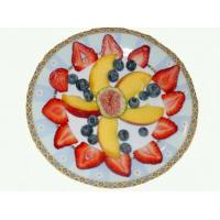 Cheap stainless steel fruit plate L828 for sale