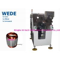 Cheap Induction Motor Stator Winding Machine With Top Insulation Paper Auto Insertion for sale