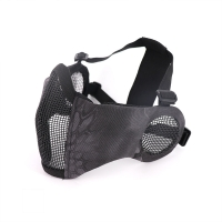 Buy cheap Black PYTHON Camo Tactical Paintball Face Mask from wholesalers
