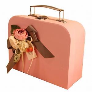 Buy cheap Luxury Design Heavy Duty 28*18*8cm Dimension Screen Printing Cardboard Storage from wholesalers